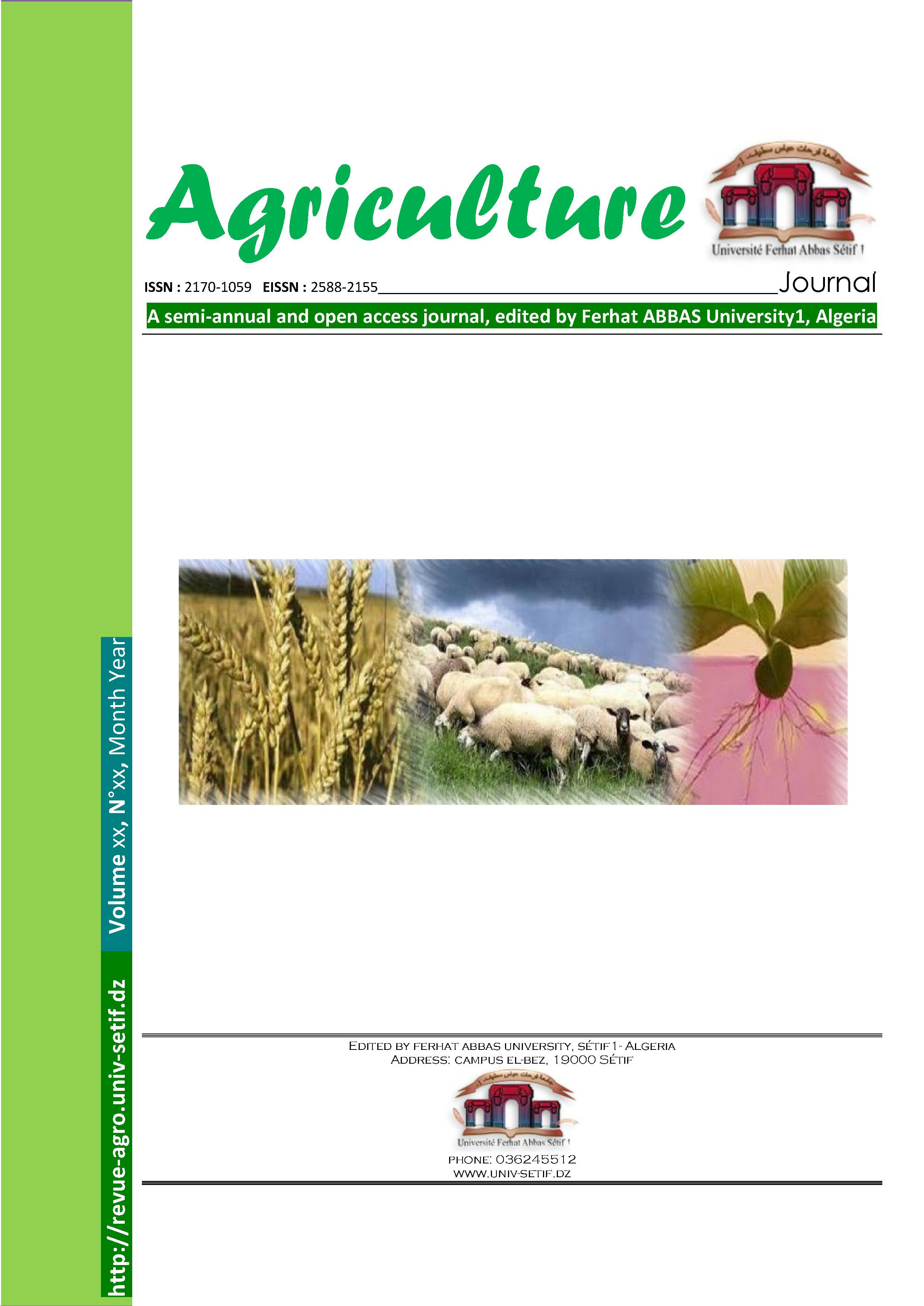 Couverture agriculture